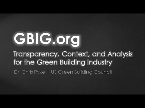 Green Building Information Gateway (GBIG)