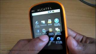Alcatel OneTouch 890 Desempaque