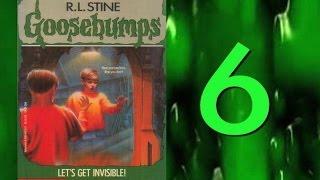 Goosebumps Retrospective #6: Let's Get Invisible