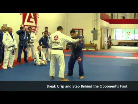 Brazilian Jiu Jitsu: Takedowns - Grip Fight to Leg Trip Takedown Raphael Da Costa Vasconcellos Image 1