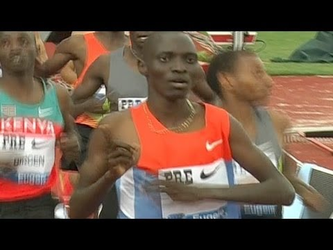 Asbel Kiprop dominates Bowerman mile, Torrence big PR at 2012 Pre Classic