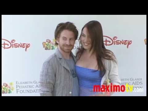 Family Guy Seth Green & Clare Grant at