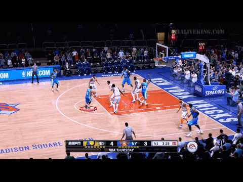 NBA LIVE 15: Indiana Pacers At New York Knicks