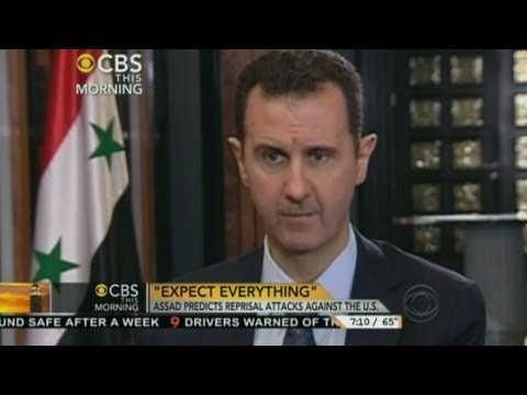 Assad interview: Syrian President talks about chemical weapons attack on CBS