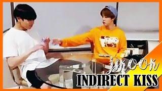 [Jikook/Kookmin] They shared a lot Indirect Kiss