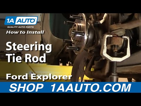 How To Install Replace Steering Tie Rod Ford Explorer Ranger Mountaineer 95-04 1AAuto.com