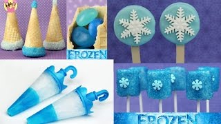 Best of DISNEY FROZEN - Princess Elsa & Anna - Popsicle - Oreo Cookie & Marshmallow Pop - party hat