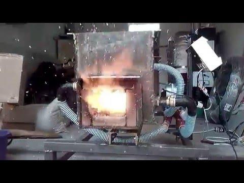 Горелка для сжигания опилок своими руками 9801