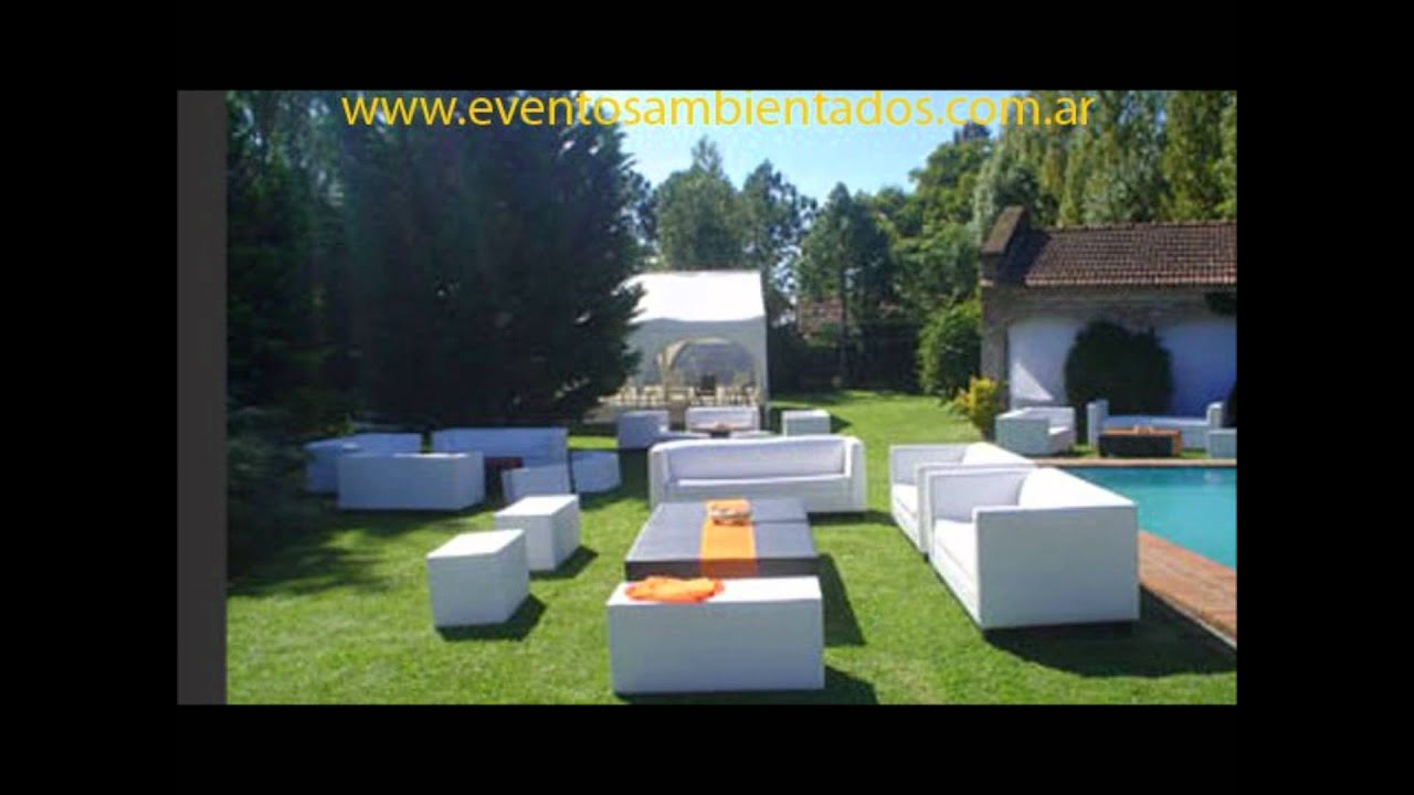 Living para fiestas de 15 a os youtube - Jardines decorados para fiestas ...