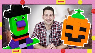 Halloween LEGO Duplo Bricks Building Ideas and Inspiration - Pumpkin Lantern, Witch and Spooky Tree!
