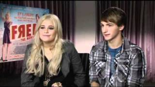 Pixie Lott and Lucas Cruikshank FRED The Movie
