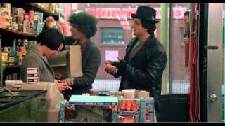 Rocky (1976): Rocky talks to Adrian at the Pet Shop