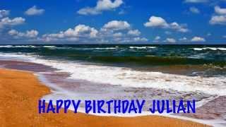 Julian Pronunciación en espanol   Beaches Playas - Happy Birthday