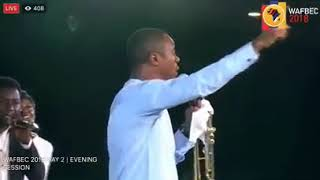Nathaniel Bassey Powerful Worship Ministration At WAFBEC 2018
