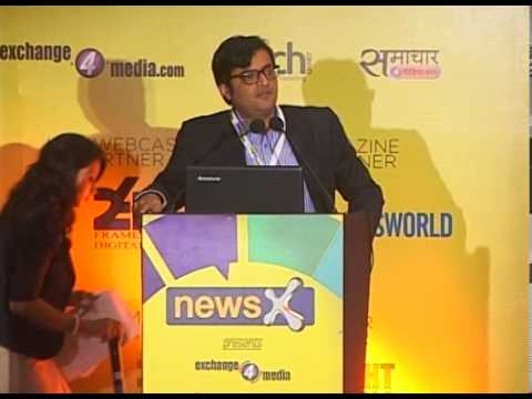 Arnab Goswami, Editor-In-Chief and News Anchor, Times Now