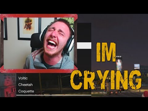 I'M CRYING! (GTA V Online w/ Goldy, Vern, & Ally)