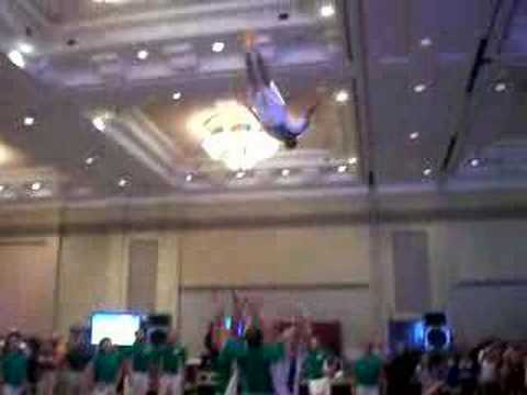 Cheer Basket Toss - Layout Video