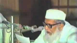 Maulana Abul Hasan Ali Nadwi in Indore 1/4