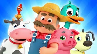 Old MacDonald Had A Farm Nursery Rhymes | Farm Song For Children | Baby Songs By The Supremes