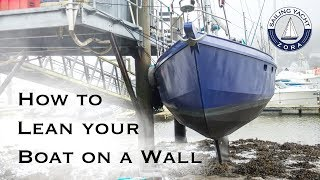 Leaning the Boat on a Wall - DIY Yacht Build - Ep 28