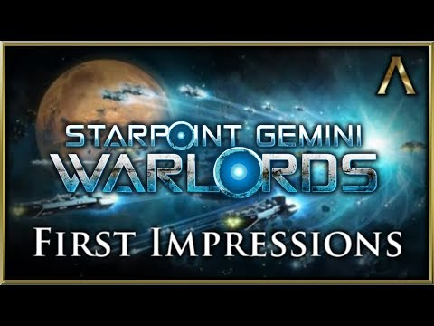 Starpoint Gemini Warlords - First Look Gameplay