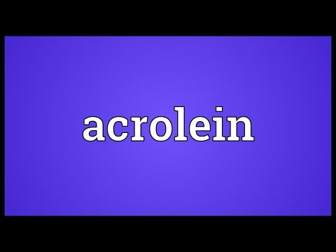 Header of acrolein
