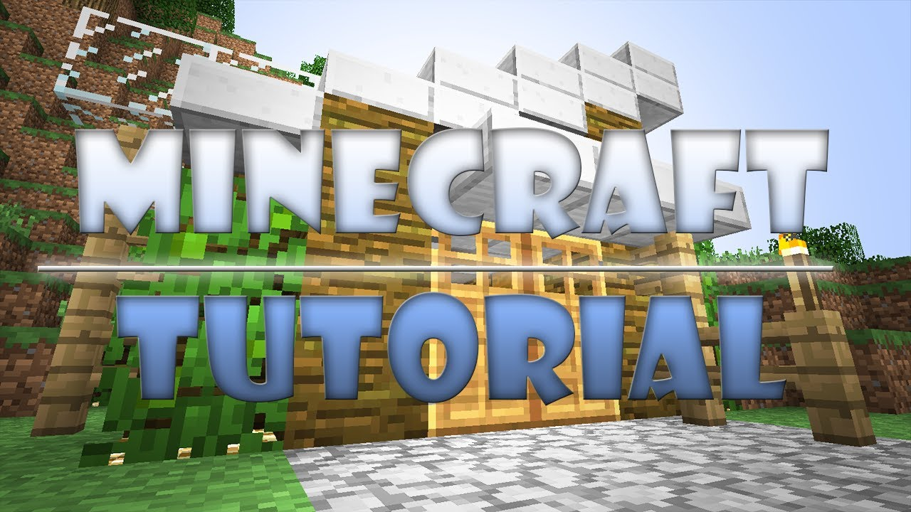 MineCraft Tutorial Modern Wood House YouTube