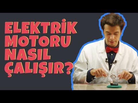 Elektrik Motoru Nasıl Çalışır?