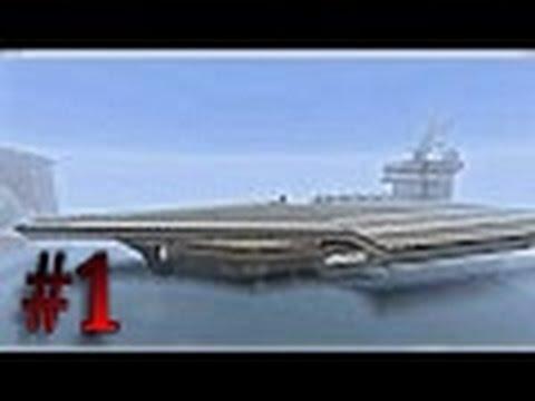 Minecraft - Flugzeugträger Map Vorstellung Part #1