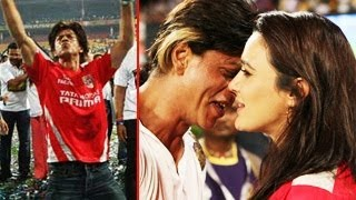 IPL 2014 Shahrukh Khan's KKR Kolkata Knight Riders WIN makes  Kings XI Punjab's Preity Zinta CRY