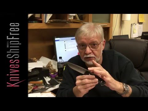 Mike Stewart of Bark River Knives Reviews Fox River LT in Elmax
