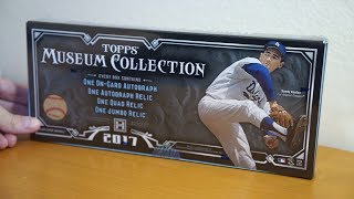 2017 Topps Museum Collection - 1 Box Break!