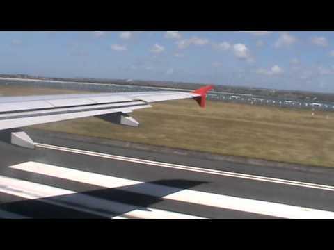 Bali Take off  Air Asia Denpasar to Bangkok
