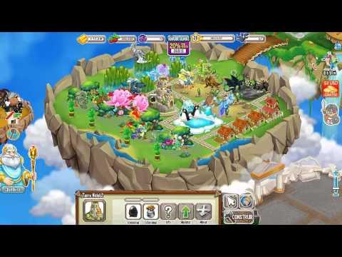 Como hacer al dragon legendario arcoiris en dragon city