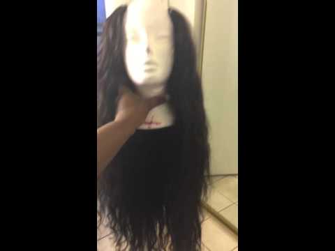 Ali moda  Malaysian loose wave after my wig is finished