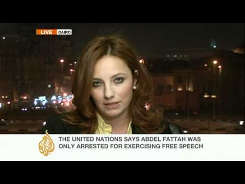 Lawyer for jailed Egyptian blogger Abd El Fattah speaks to Al Jazeera
