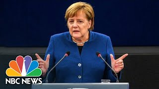 Angela Merkel Calls For Creation Of A ?True European Army? | NBC News
