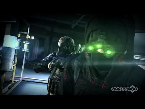 Splinter Cell: Blacklist - Spies vs Mercs Preview