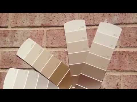 Exterior Paint Sample Colors Pink Brick Youtube