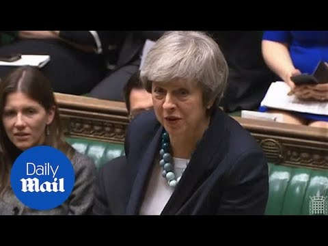 Theresa May's hilarious exchange with MP about 'premature ejaculation'