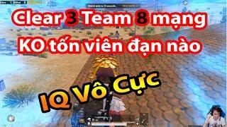 🔫[PUBG MOBILE] Clear 3 Team 8 Kills KO cần đạn-IQ Vô Cực - Not Shot - Infinity IQ ✔
