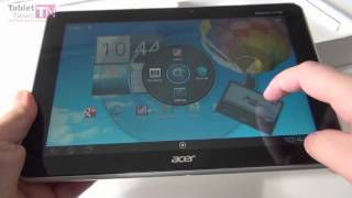 Acer Iconia Tab A510 Olympic Edition unboxing - Tablet-News.com