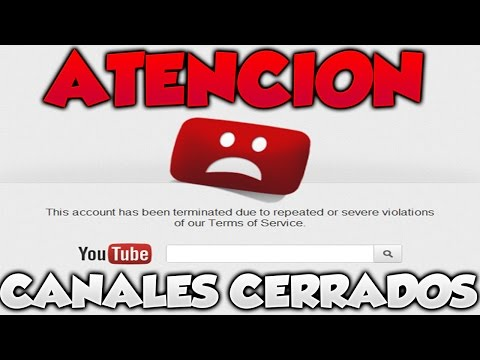 CANALES DE YOUTUBE ESTAN SIENDO CERRADOS ¡ALERTA A TODOS! GTA 5 ONLINE