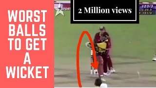 Top 5 - Bad balls to get a wicket | LUCKY 2 | SIMBLY CHUMMA - 83