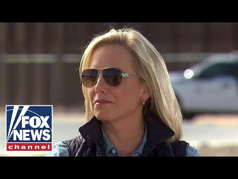 Nielsen holds briefing on the caravan at US border