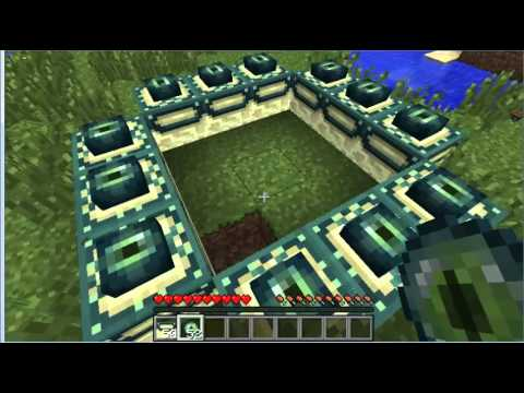Minecraft-Como hacer el portal al End World y matar al End Dragon