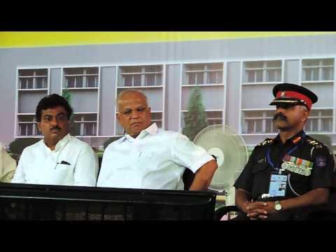 Sainik School Bijapur -GJ, Shri  Pranab Mukherjee addressing students & staff