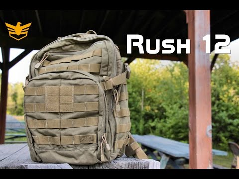 5 11 Tactical Rush 12 Backpack Review