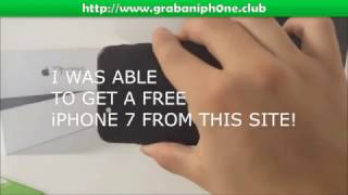 100% Free iPhone 7 - How to Get a Free iPhone 7