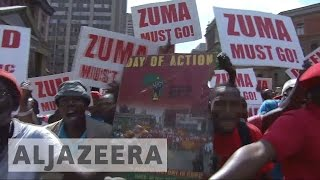 South Africa: Protesters demand President Zuma's resignation